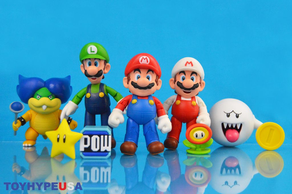 Jakks Pacific World Of Nintendo 4″ Wave 18 Figures Review