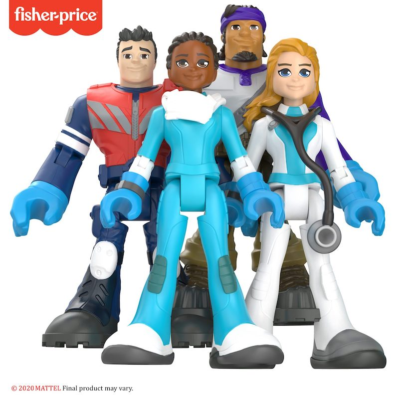 Mattel Unveils Special Edition Thank You Heroes Collection From Fisher-Price To Honor Today's Heroes