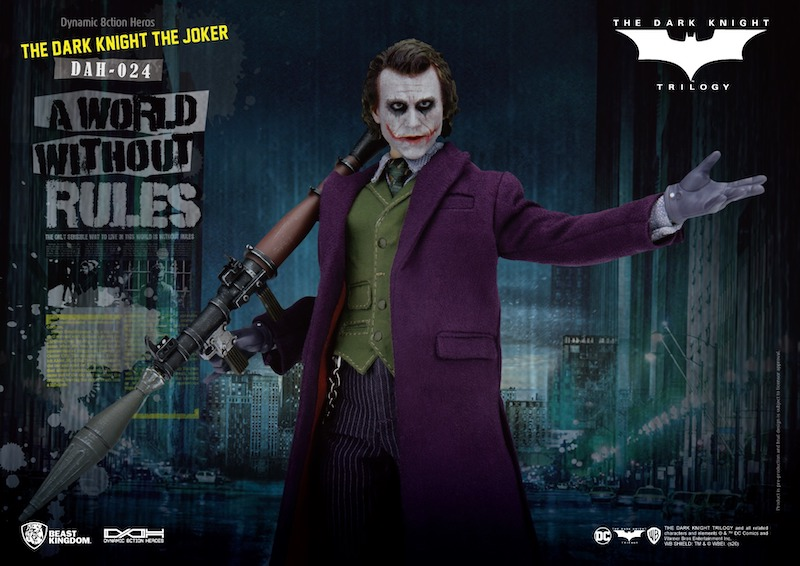 Beast Kingdom – The Dark Knight – The Joker Dynamic 8ction Figure