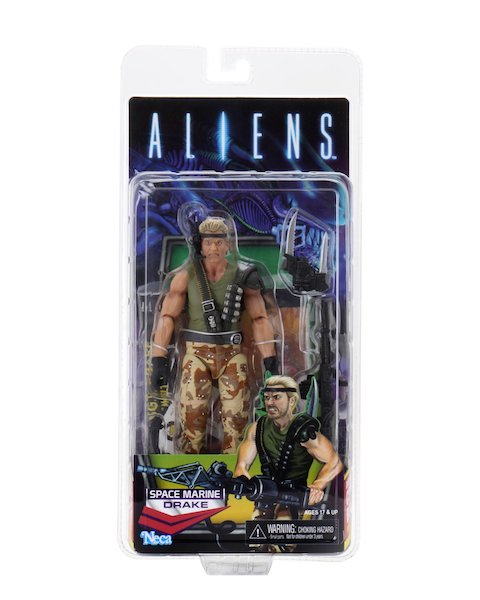 NECA Toys Shipping This Week – Rhino Alien, Space Marine Drake, Annabelle & Big Chap Alien