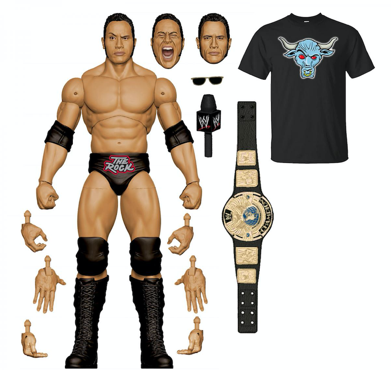 Mattel – WWE The Rock Ultimate Edition Figure Now Shipping From Amazon