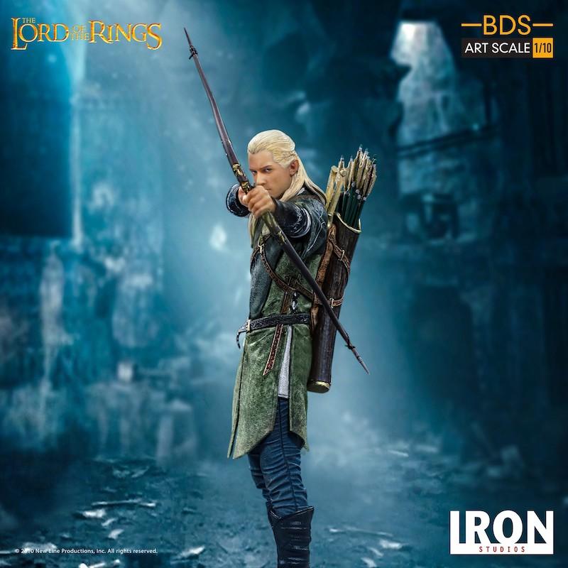 Iron Studios – Lord Of The Rings – Legolas Statue Pre-Orders