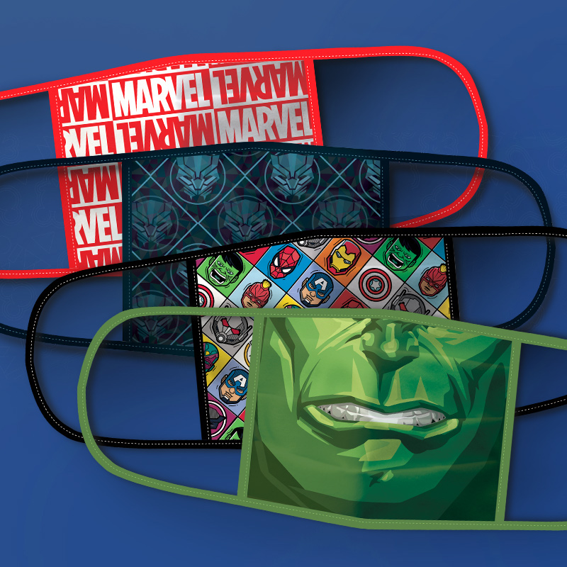Disney Introduces Cloth Disney, Pixar, Marvel & Star Wars Face Masks & Donates to Communities in Need