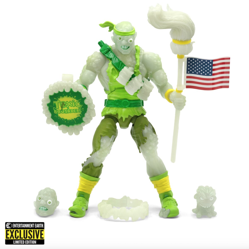 Super7 – Entertainment Earth Exclusive Toxic Crusaders Glow-In-The-Dark Toxie Deluxe 6″ Figure