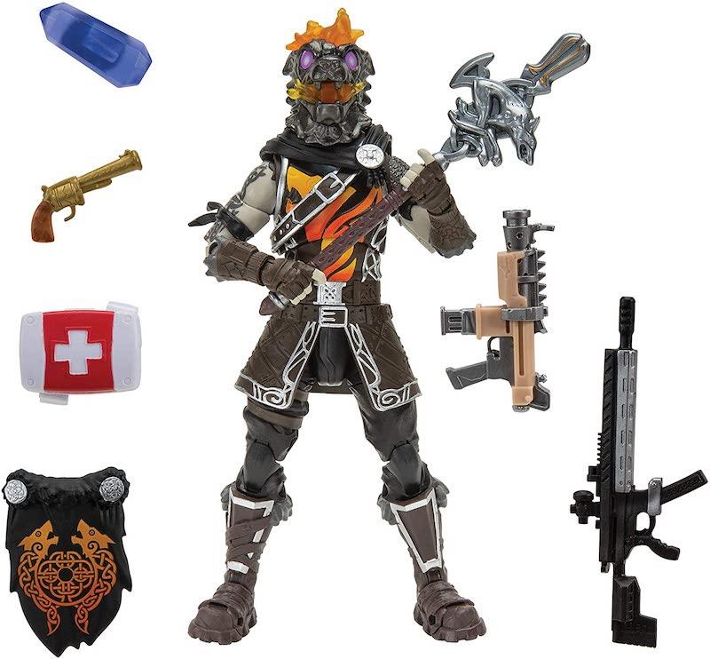 Jazwares – Fortnite 6″ Legendary Series Molten Battle Hound Figure $11 On Amazon