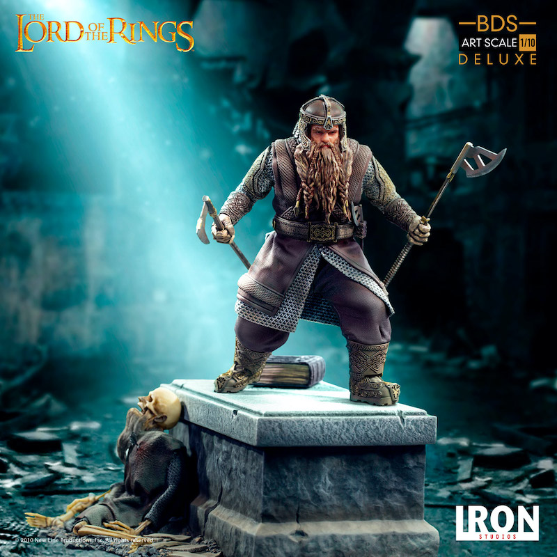 Iron Studios – Lord Of The Rings – Gimli Statue Pre-Orders