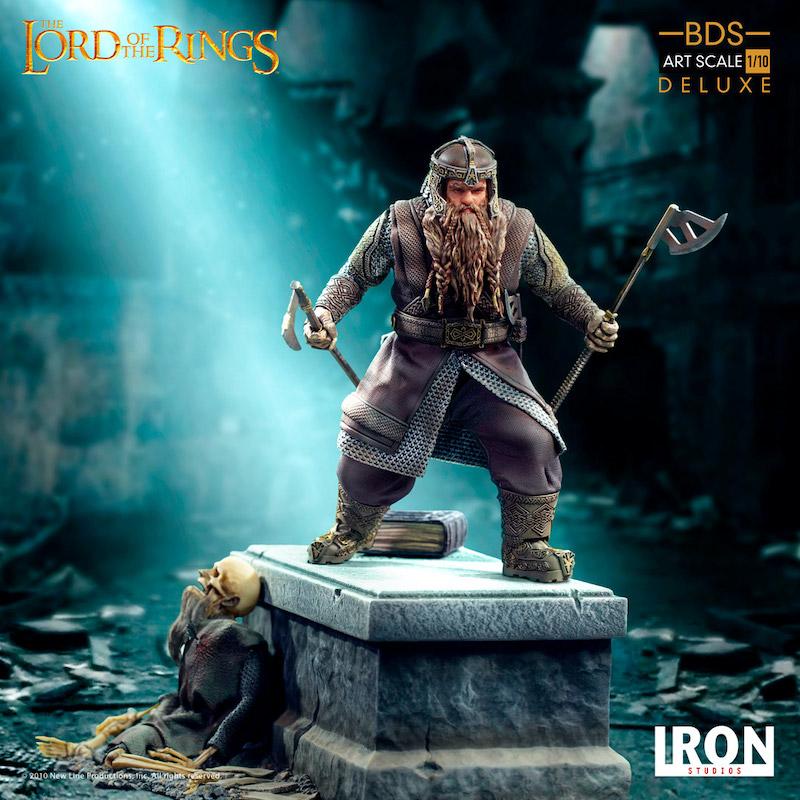 Iron Studios – Lord Of The Rings – Gimli Statue Pre-Orders