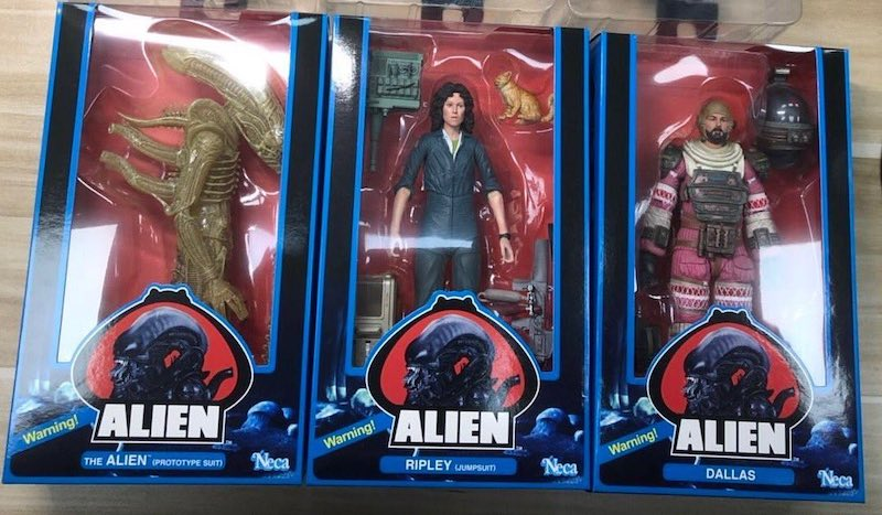 NECA Toys Alien 40th Anniversary Figures Series 1 In-Packaging