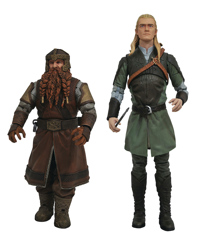Diamond Select Toys – Lord Of The Rings Select Series 1 Figures