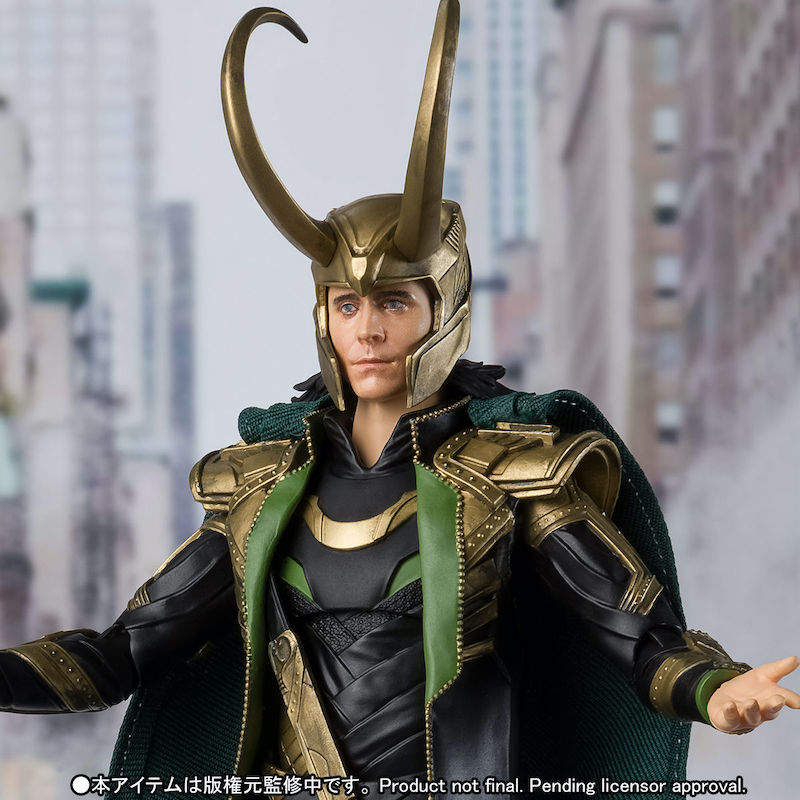 S.H. Figuarts The Avengers Loki Figure