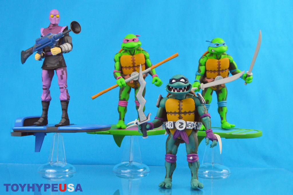 ** TMNT Air Ninja Foot Soldier COMPLETE Ninja Turtles Army Builder Lot Toys **