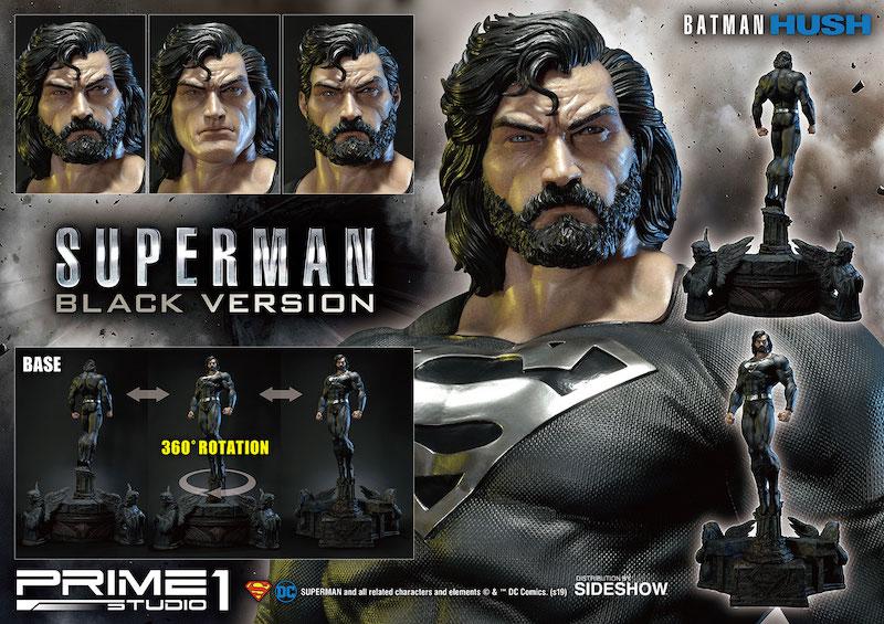 Prime 1 Studio Superman (Black Version) Statue Pre-Orders