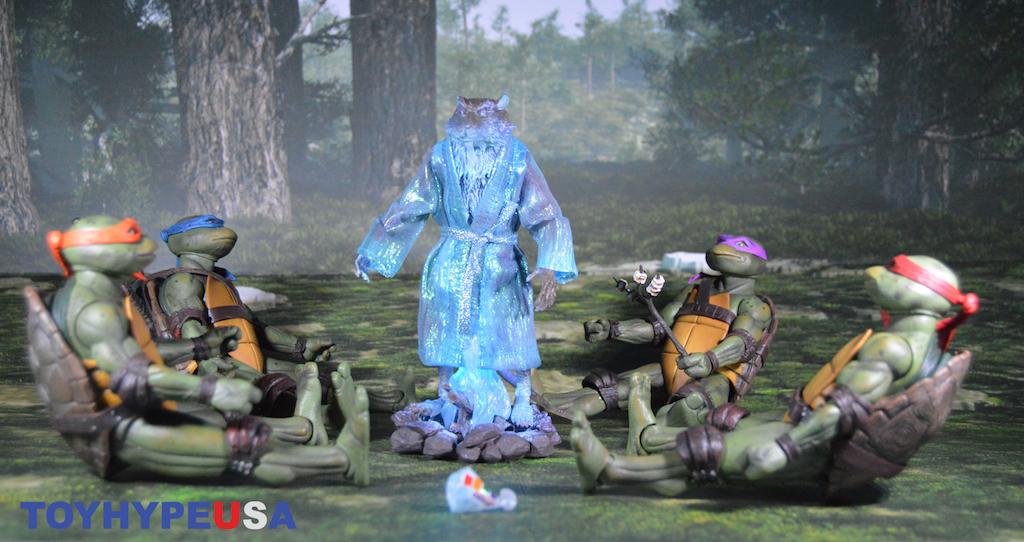 NECA Toys Lootcrate Exclusive Teenage Mutant Ninja Turtles 7″ Scale Spirit Of Splinter Figure Review
