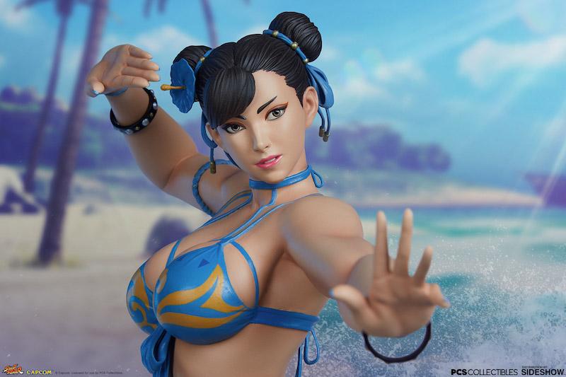 Pop Culture Shock – Street Fighter Chun-Li 1/4″ Scale Statue Pre-Orders