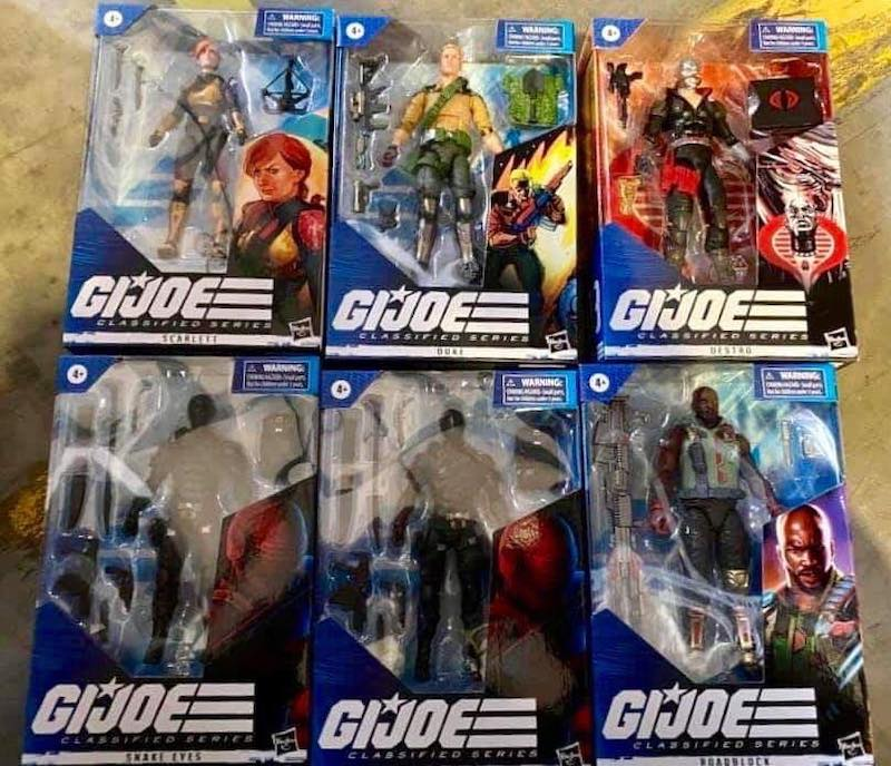 Hasbro G.I. Joe Classified 6″ Wave 1 Full Line-Up Revealed