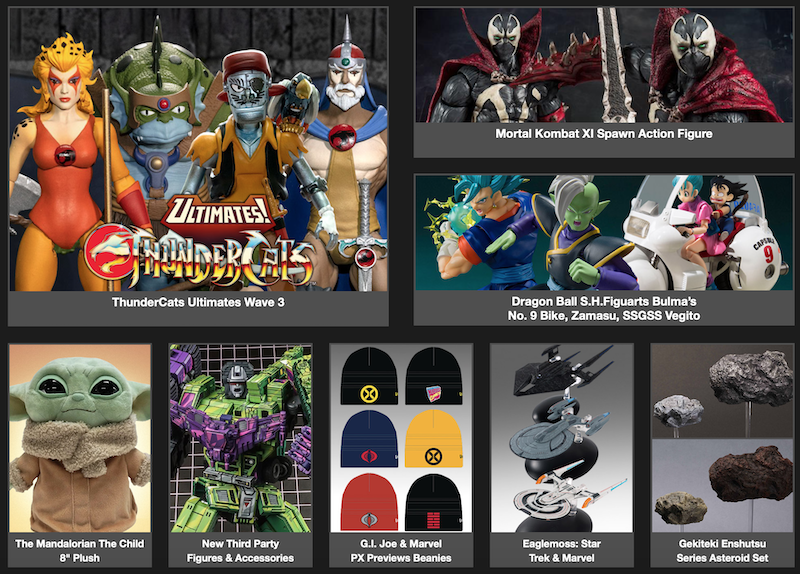 BigBadToyStore – Mysterio, The Mandalorian, Dragon Ball, My Hero Academia, G.I. Joe, Bandai, LotR & More