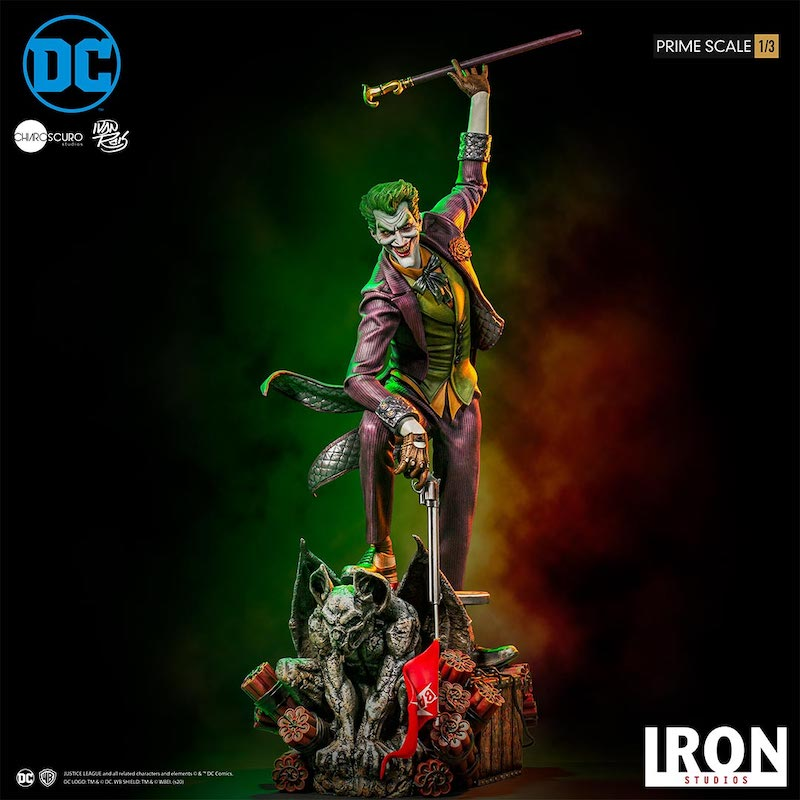 Iron Studios – DC Comics The Joker 1/3 Scale Statue Pre-Orders