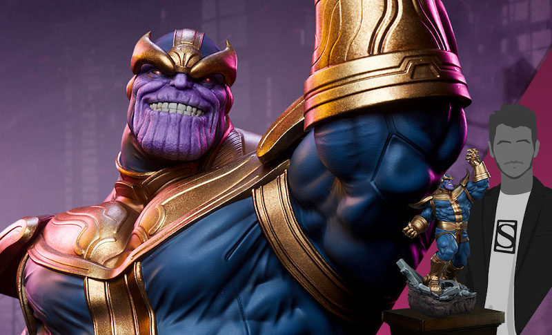 Sideshow Collectibles Thanos (Modern Version) Statue Pre-Orders