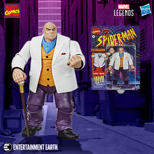 Entertainment Earth – Marvel Legends Kingpin Exclusive, May The 4th Free Shipping Offers & Star Wars Barbies