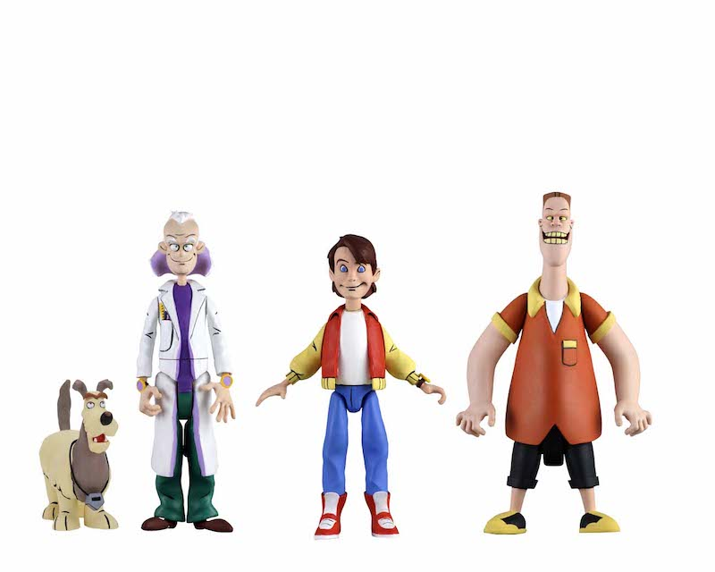 NECA Toys Back To The Future Toony Classics 6″ Figures Available Now