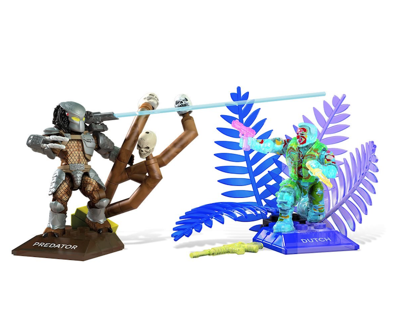Mega Construx Predator Heroes Dutch vs Predator Set