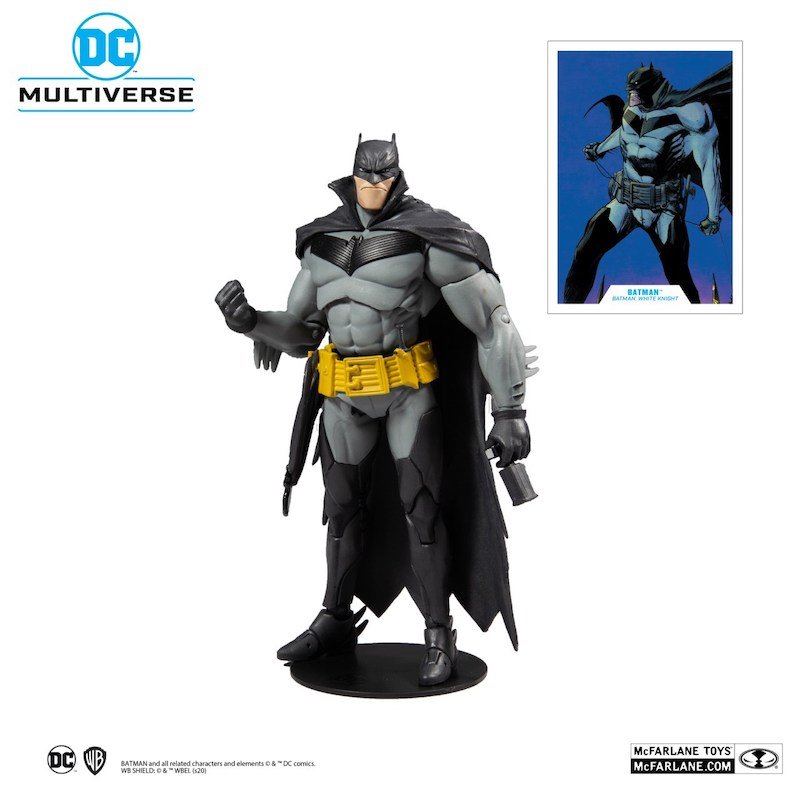 McFarlane Toys – DC Multiverse Batman: White Knight Figures Pre-Orders $19.99 On Amazon