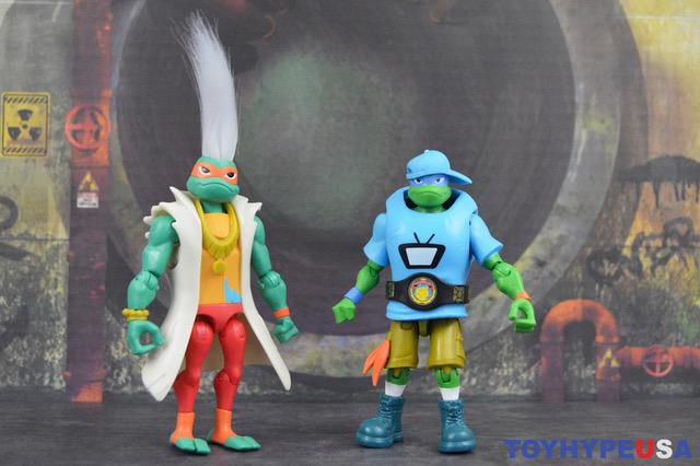 Playmates Toys Rise Of The Teenage Mutant Ninja Turtles Wrestling Michelangelo Figure Review