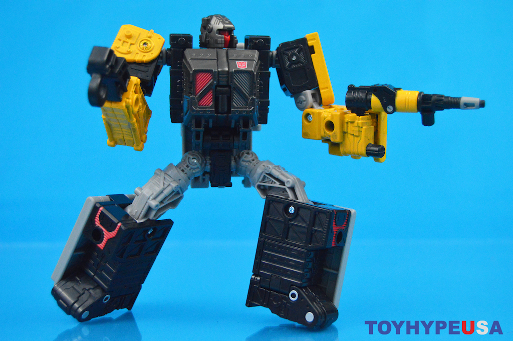 Hasbro Transformers War For Cybertron: Earthrise Ironworks Figure Review