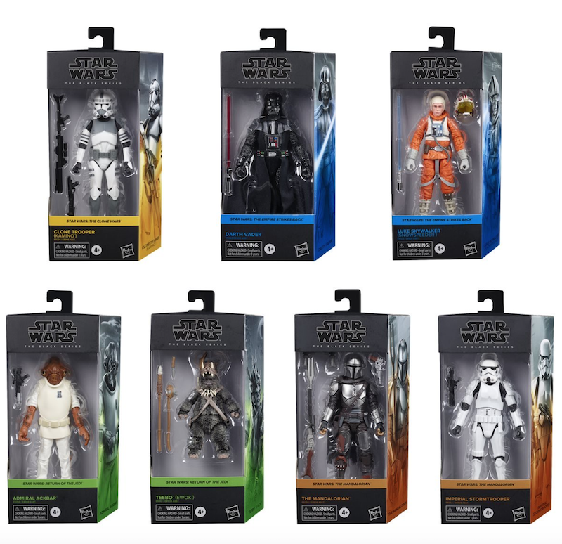 Entertainment Earth – Star Wars The Black Series 6″ Figures Wave 1 Case Pre-Orders