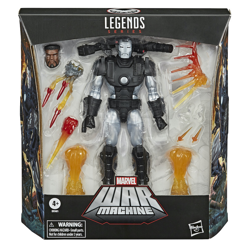Amazon Black Friday Deal – Marvel Legends 6″ War Machine Deluxe Figure Now $20.99