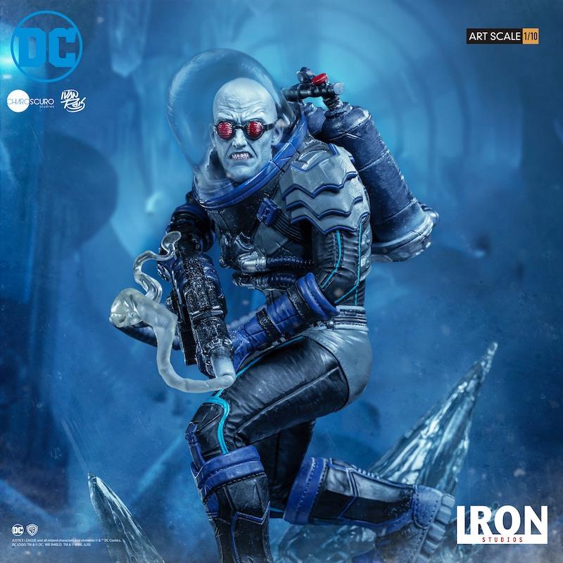 Iron Studios – DC Comics Mr. Freeze Art Scale 1/10 Statue Pre-Orders