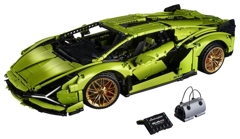 LEGO Reveals The Technic Automobili Lamborghini