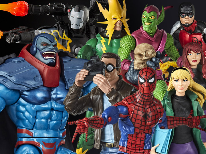 Hasbro Marvel Legends 6″ Retro Spider-Man, War Machine, AOA Apocalypse & More