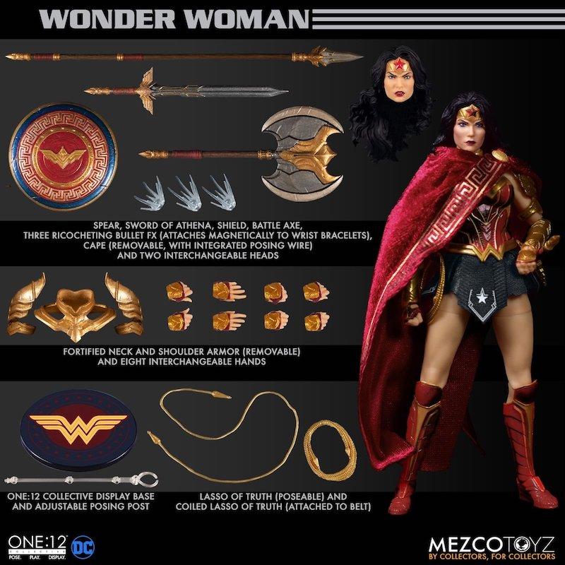 Mezco Toyz DC Comics – Wonder Woman One:12 Collective Figure