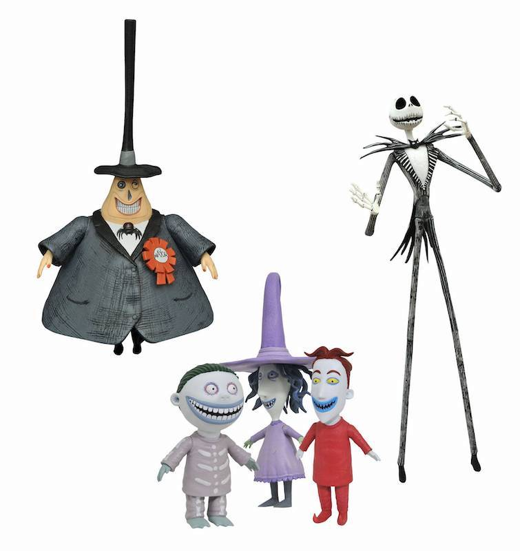 "Diamond Select Toys Nightmare Before Christmas ""Best Of"" Series 1 & 2 Figures"