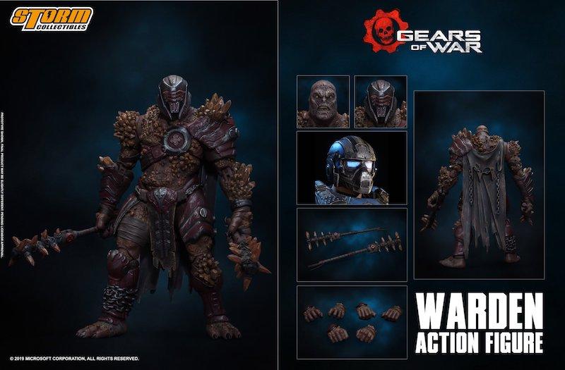 Storm Collectibles Gear Of War 5 – Warden Figure