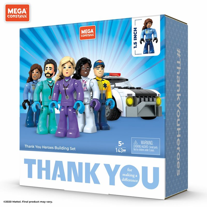 Mattel Expands Thank You Heroes Collection With New Collectible Products From Matchbox, Mega Construx & UNO