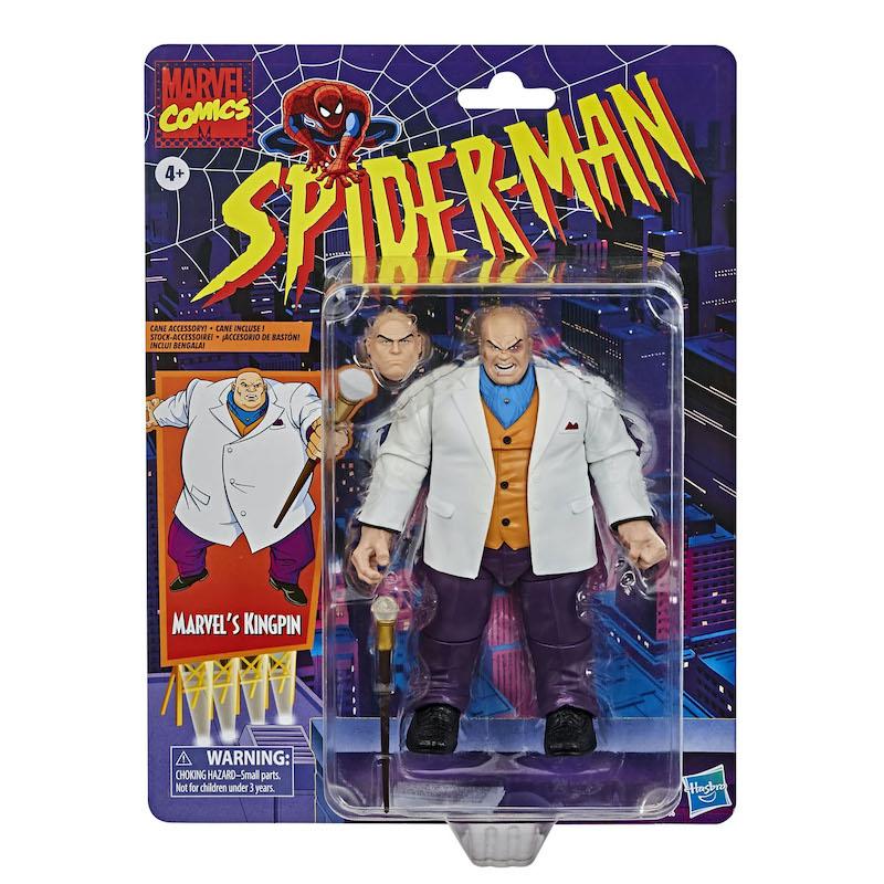 Hasbro Marvel Legends Spider-Man The Animated Series Kingpin In-Stock On Amazon