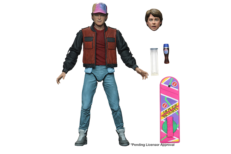 NECA Toys Shipping This Week – Ultimate Marty McFly & Alpha Predator Figures