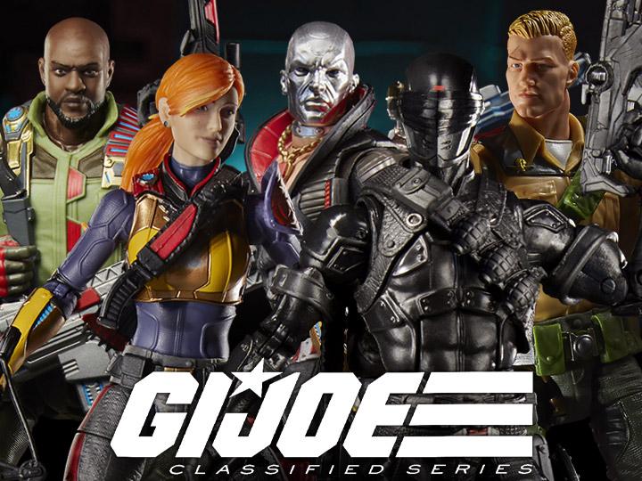 Hasbro G.I. Joe Classified 6″ Wave 1 Duke, Roadblock & Scarlet Figures In-Stock On Amazon