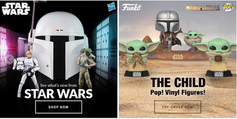 Entertainment Earth – New Hasbro Star Wars Pre-Orders, Loungefly & More