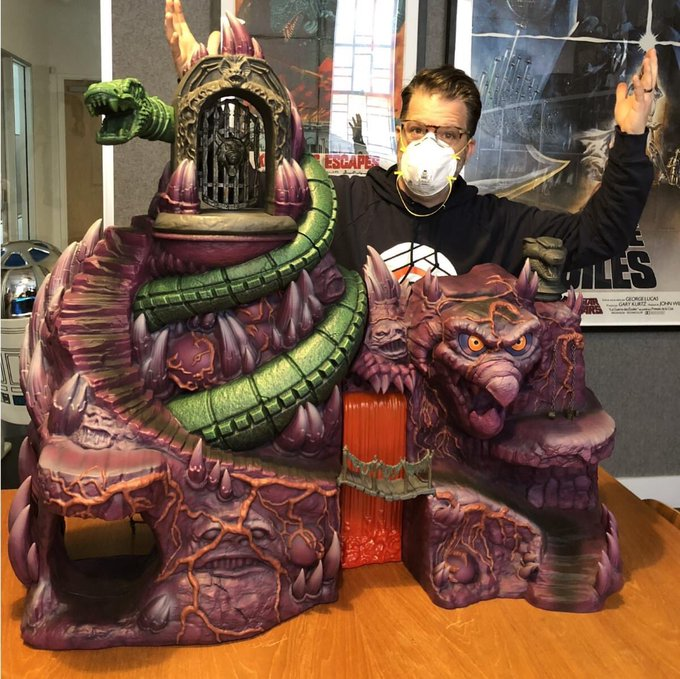 Super7 Masters Of The Universe Classics Snake Mountain Playset Update