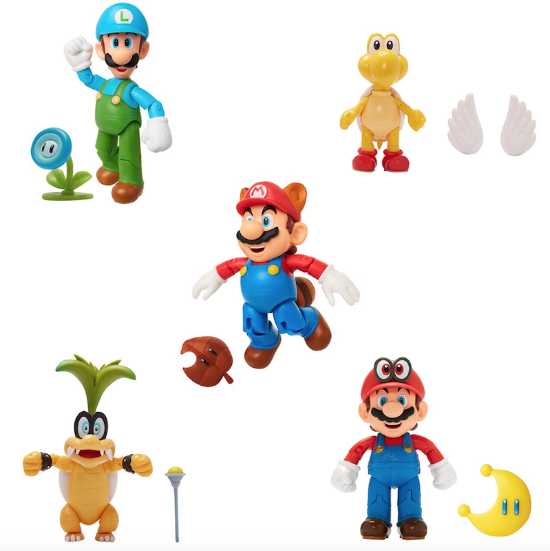 Jakks Pacific World Of Nintendo 4″ Wave 20 Figure Pre-Orders