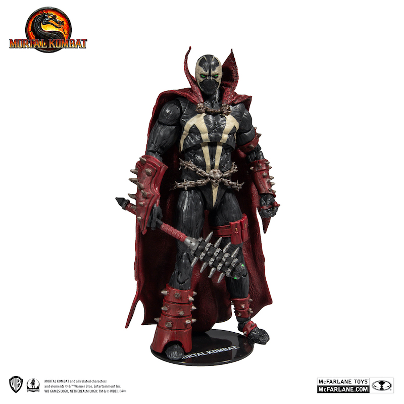 McFarlane Toys – Mortal Kombat Spawn With Mace Variant Figure Pre-Orders Back Up On Amazon