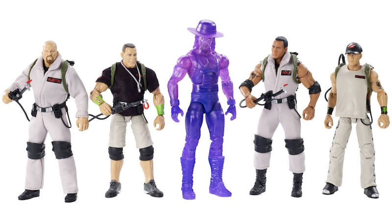 Mattel – WWE Elite Ghostbusters Figures Offered On Entertainment Earth