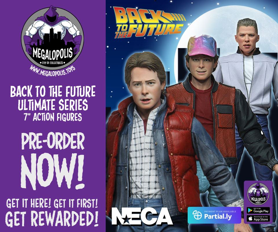 Megalopolis: City Of Collectibles – Star Wars Deals Extended, DC Multiverse, BTTF, Transformers, Ghostbusters & More