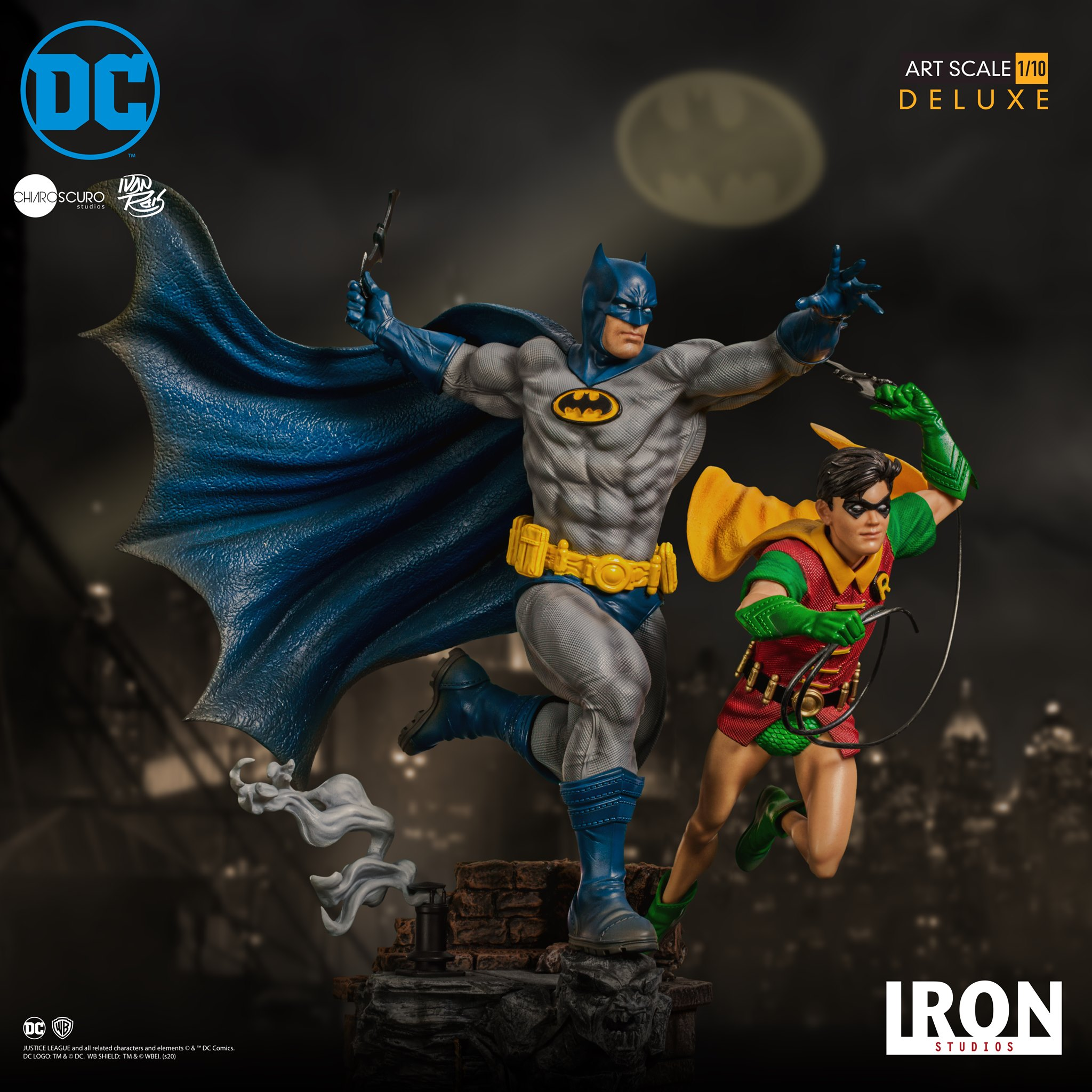 Sideshow Collectibles – Iron Studios Batman & Robin Deluxe Art Scale 1/10 Statue Pre-Orders