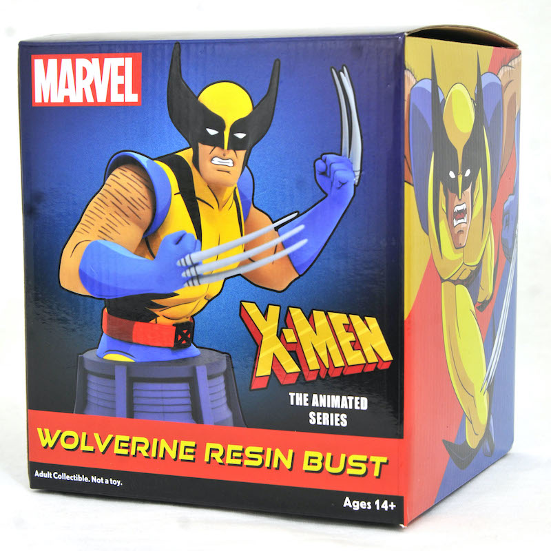 Diamond Select Toys Shipping This Week – Thanos, Wolverine & Sub-Zero Busts