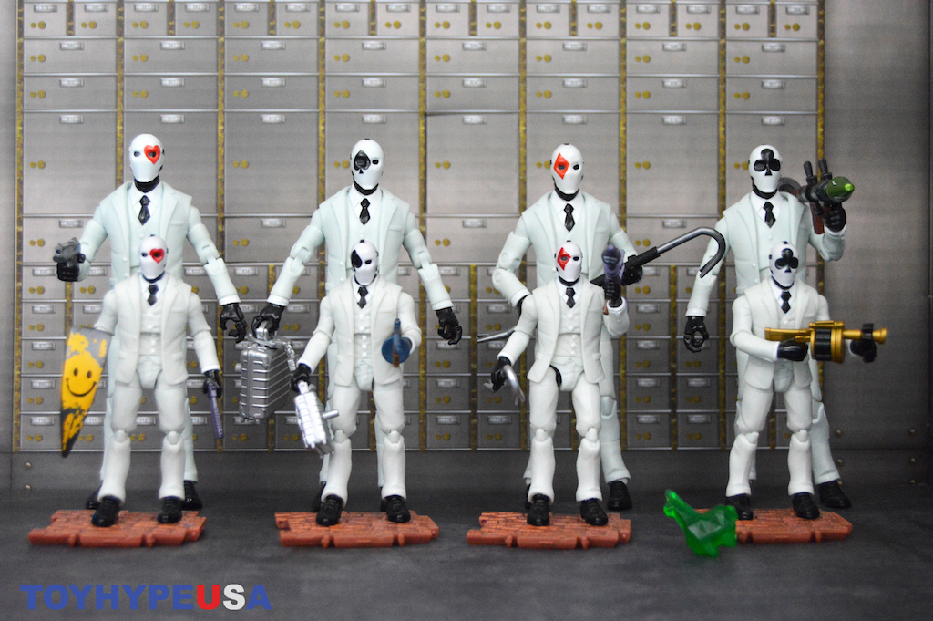 Jazwares – Fortnite Squad Mode Amazon Exclusive Figure 4-Pack Review