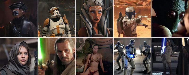 Hasbro Star Wars The Black Series Archive Fan Vote 2020